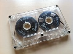 Teac Black Reel to Reel Cassette