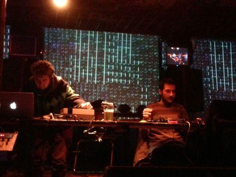 Music performance at Music Hack Ship