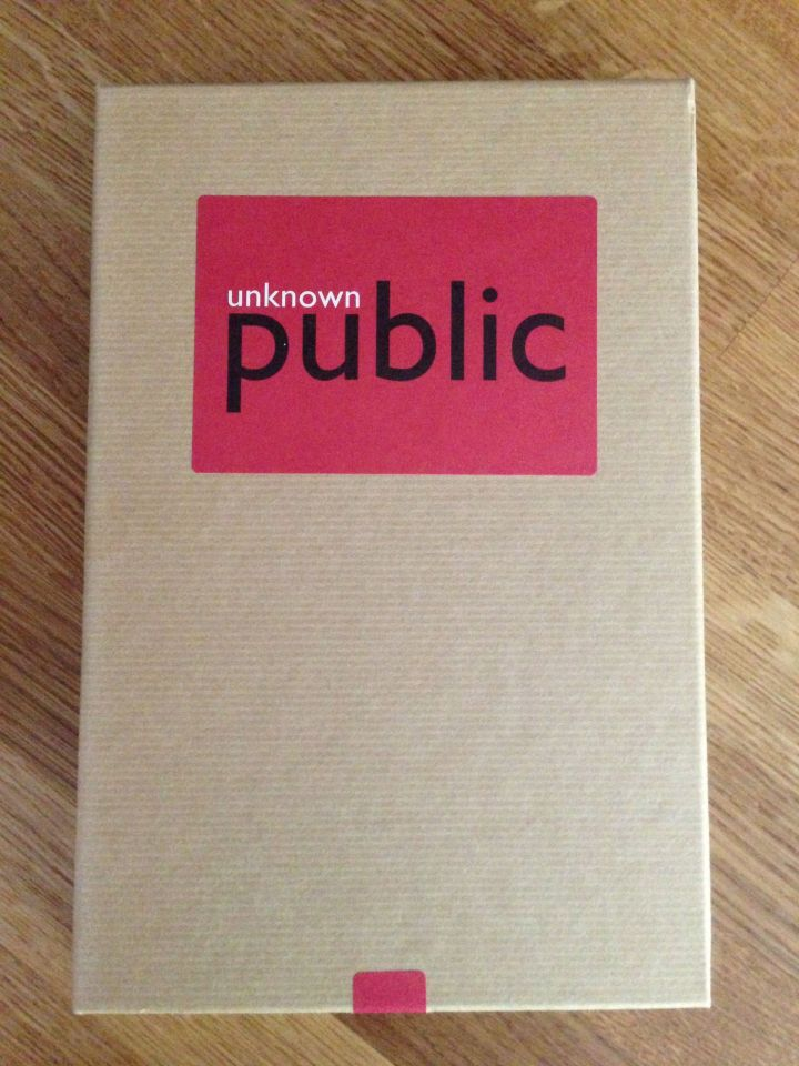 Unknown Public: First Edition