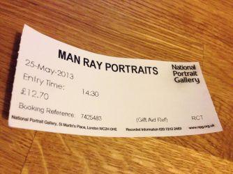 Man Ray at the NPG