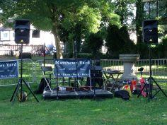 Matthews Yard Stage