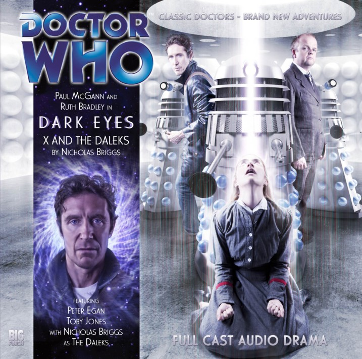 Dark Eyes X and the Daleks cover