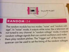 Random module