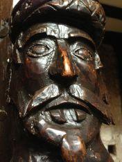 Sarcen carving
