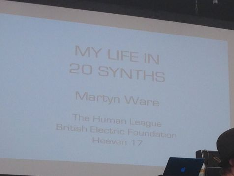 Martyn Ware's 20 synth
