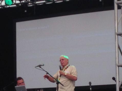 Dick Mills talking