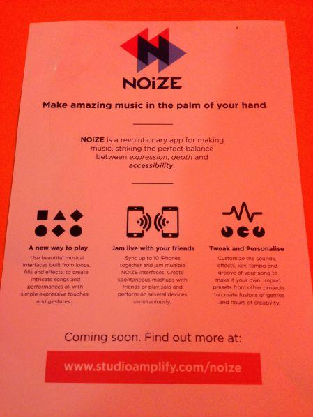 Info on NOiZE