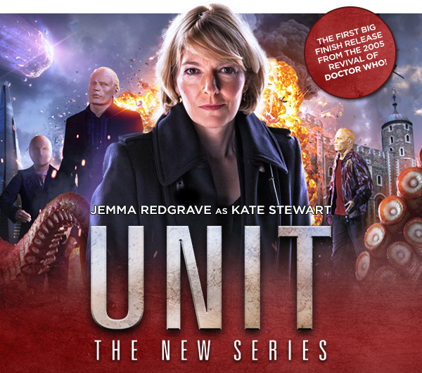 Big Finish - UNIT new series