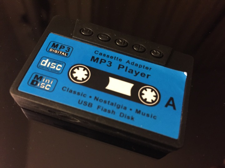 Cassette shaped MP3 Player