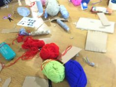 Weaving with Conductive Thread