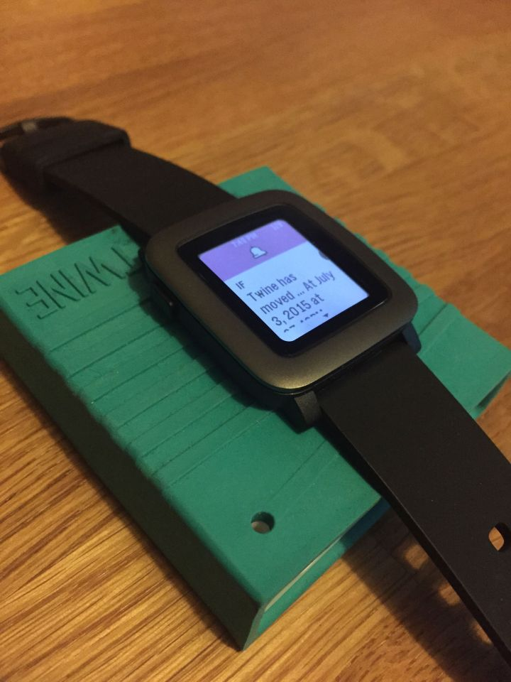 Pebble Time and Twine