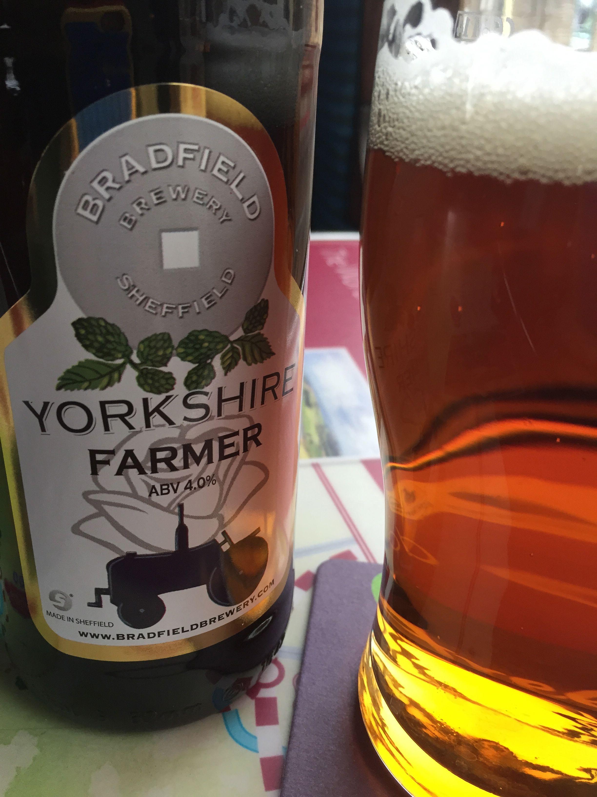 Yorkshire Farmer Ale on the Keighley line