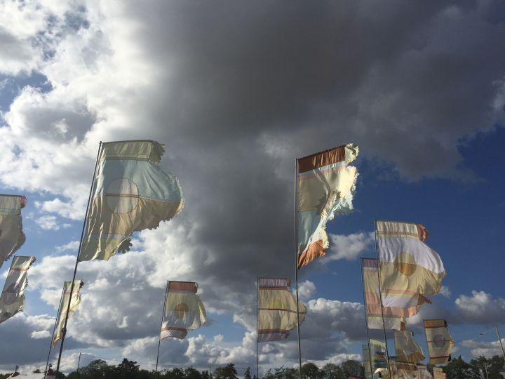 Obligatory WOMAD flag picture