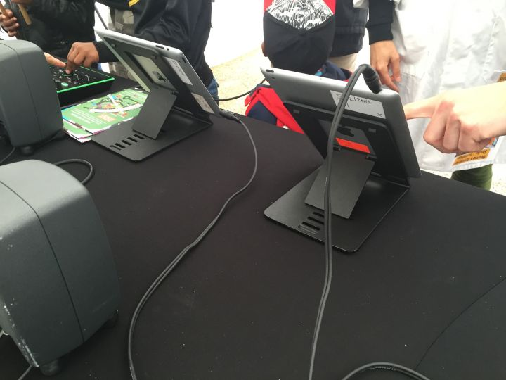 iPads at SoundLab Liberty Festival 2015