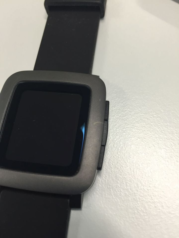 Pebble Time - More blemishes on the casing