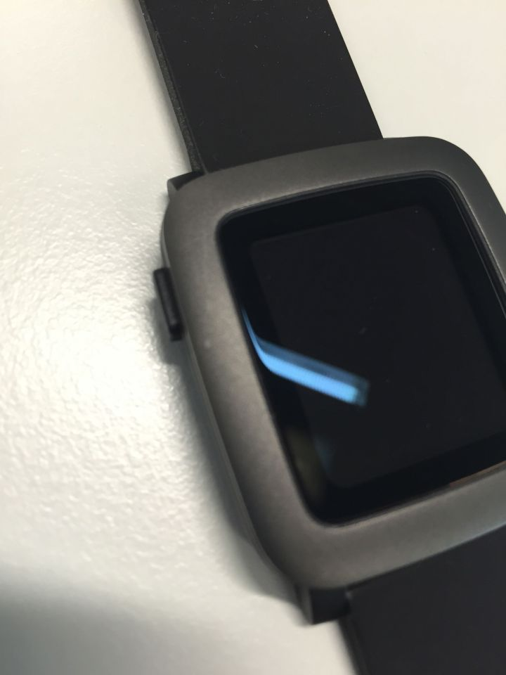 Pebble Time - Blemishes on the casing