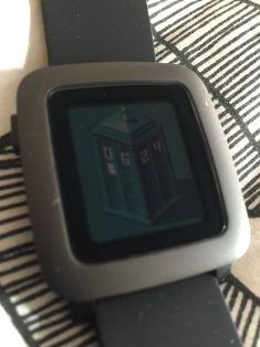 Pebble Time Watch Faces - The tardis