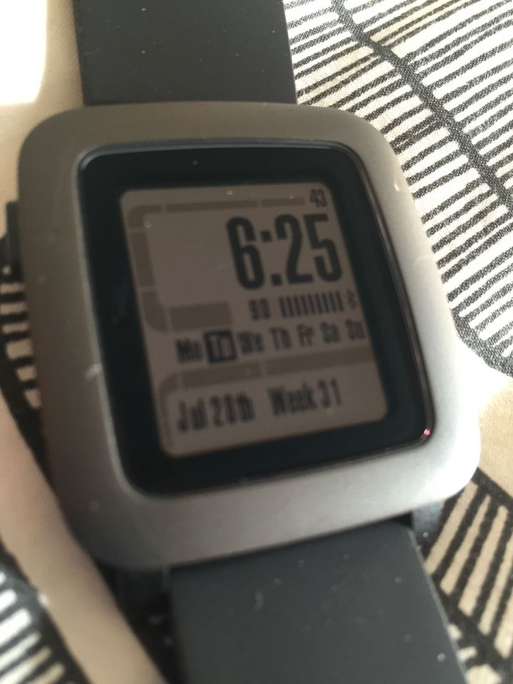 Pebble Time Watch Faces - LCARS