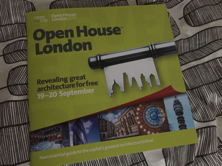 The 2015 Open House London Guide