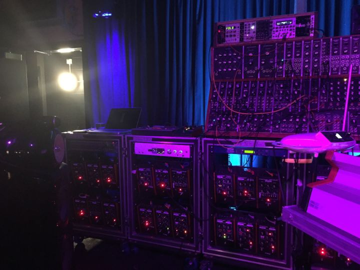 Modular beauties at Moog Soundlab residency