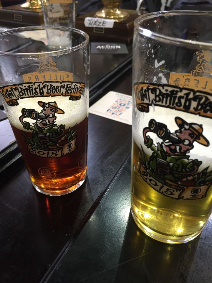A lovely day at the GBBF 2015