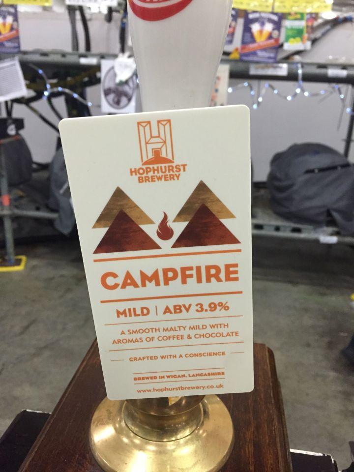 Campfire Mild at GBBF 2015