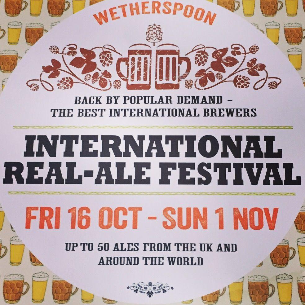 Wetherspoons Beer Festival 2015