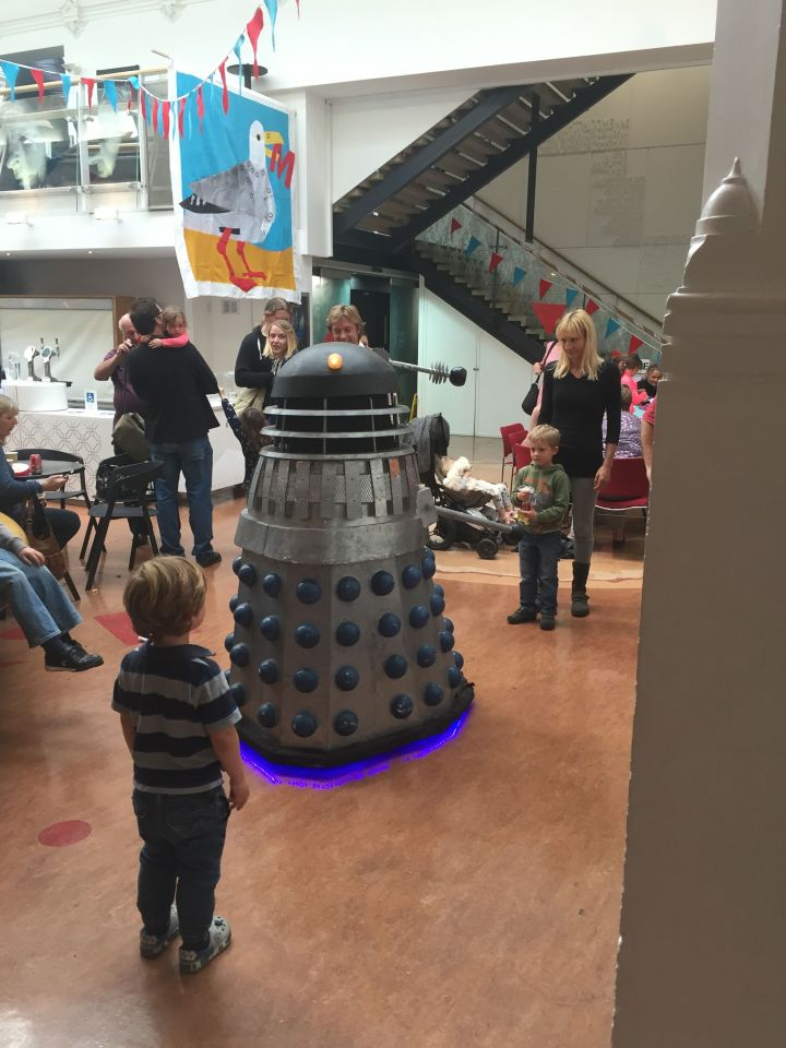 Brighton Mini Maker Faire 2015: Dalek