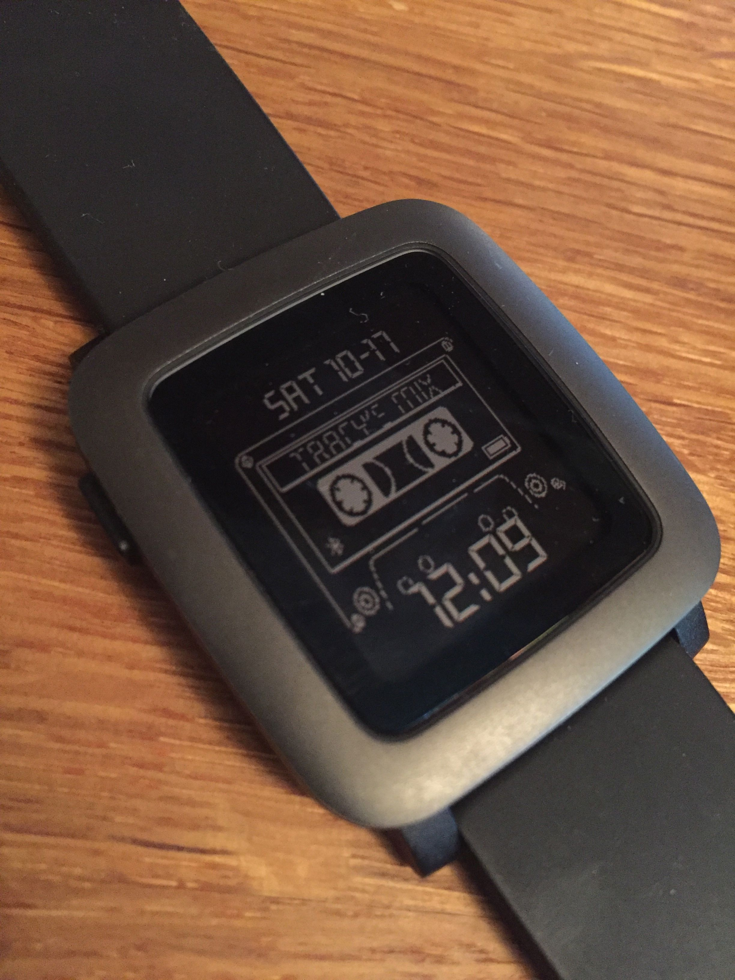 Mixtape Watch face for Pebble Time