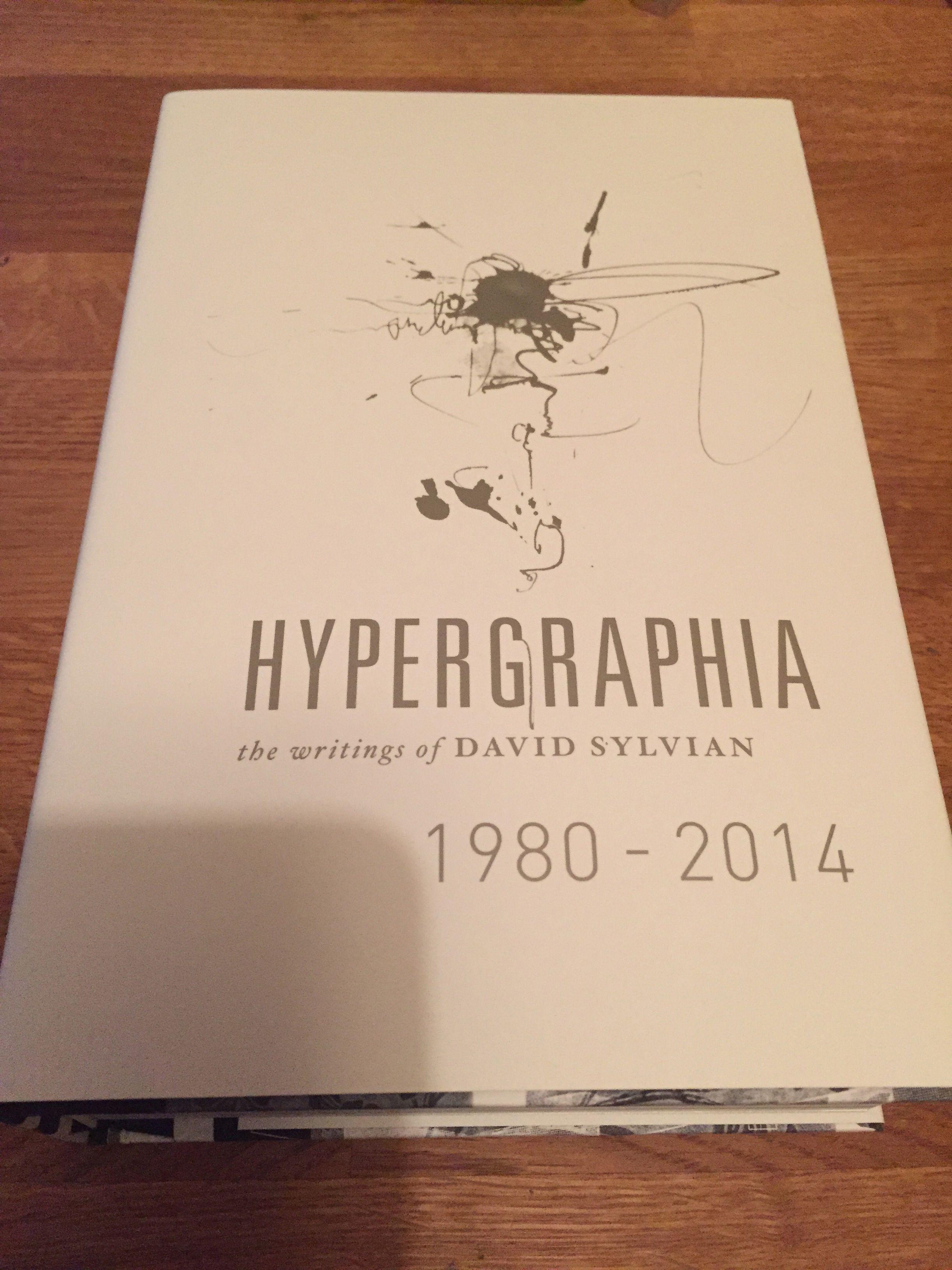 Hypergraphia by David Sylvian