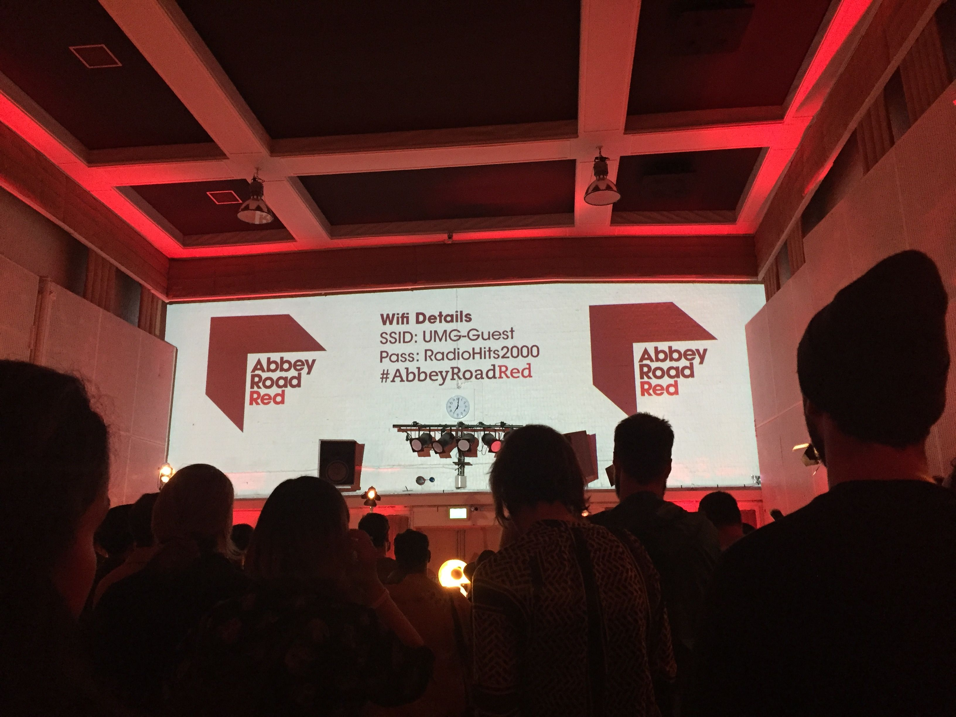 Abbey Road Red Launch Event