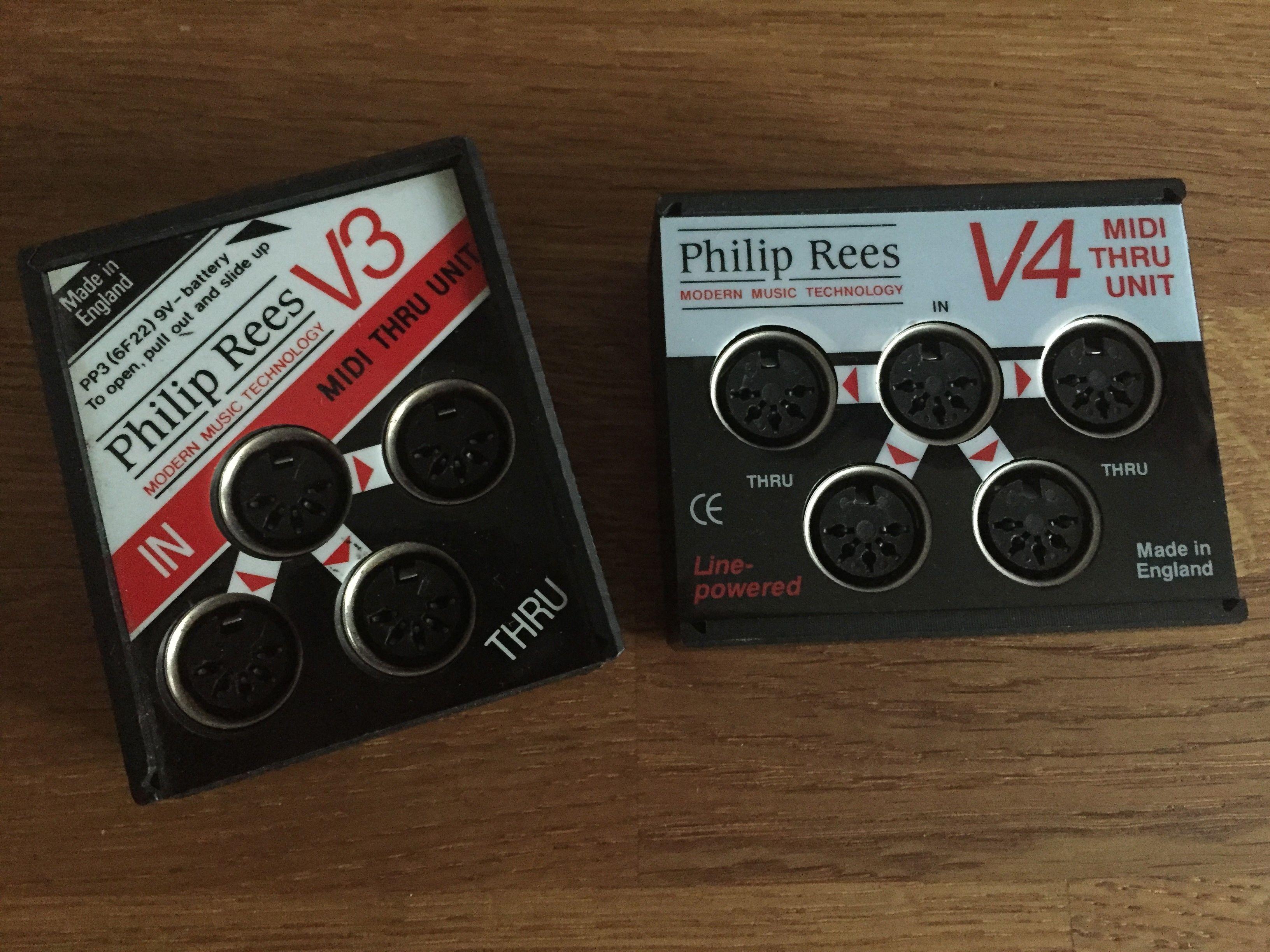 Philip Rees V3 and V4