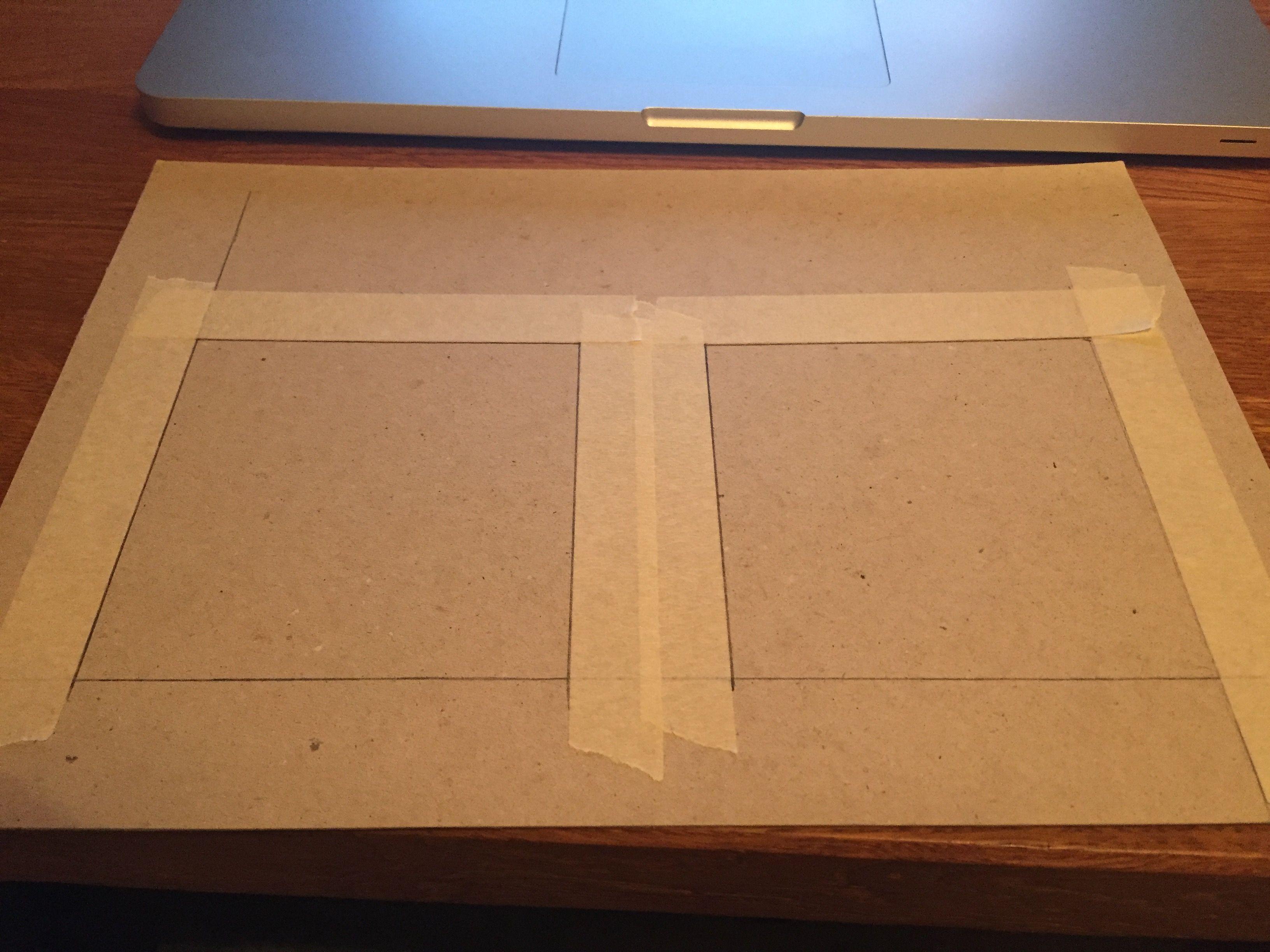 Drawing up proximity pads