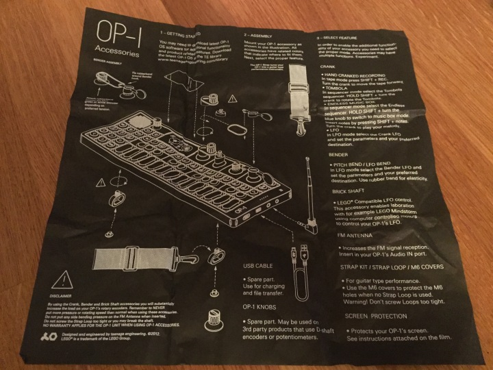 OP-1 Antenna tissue paper
