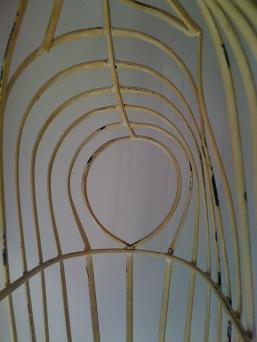 Wire dress maker frame