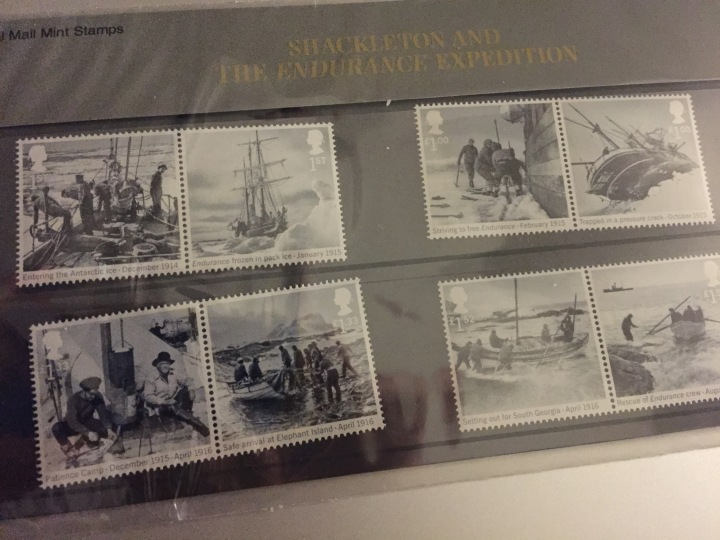 Shackleton stamps