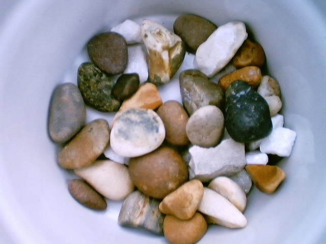 Small Stones in a Bowl