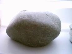 Stone Candle Holder Close Up
