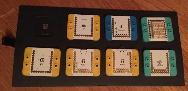 mCookie Microduino components