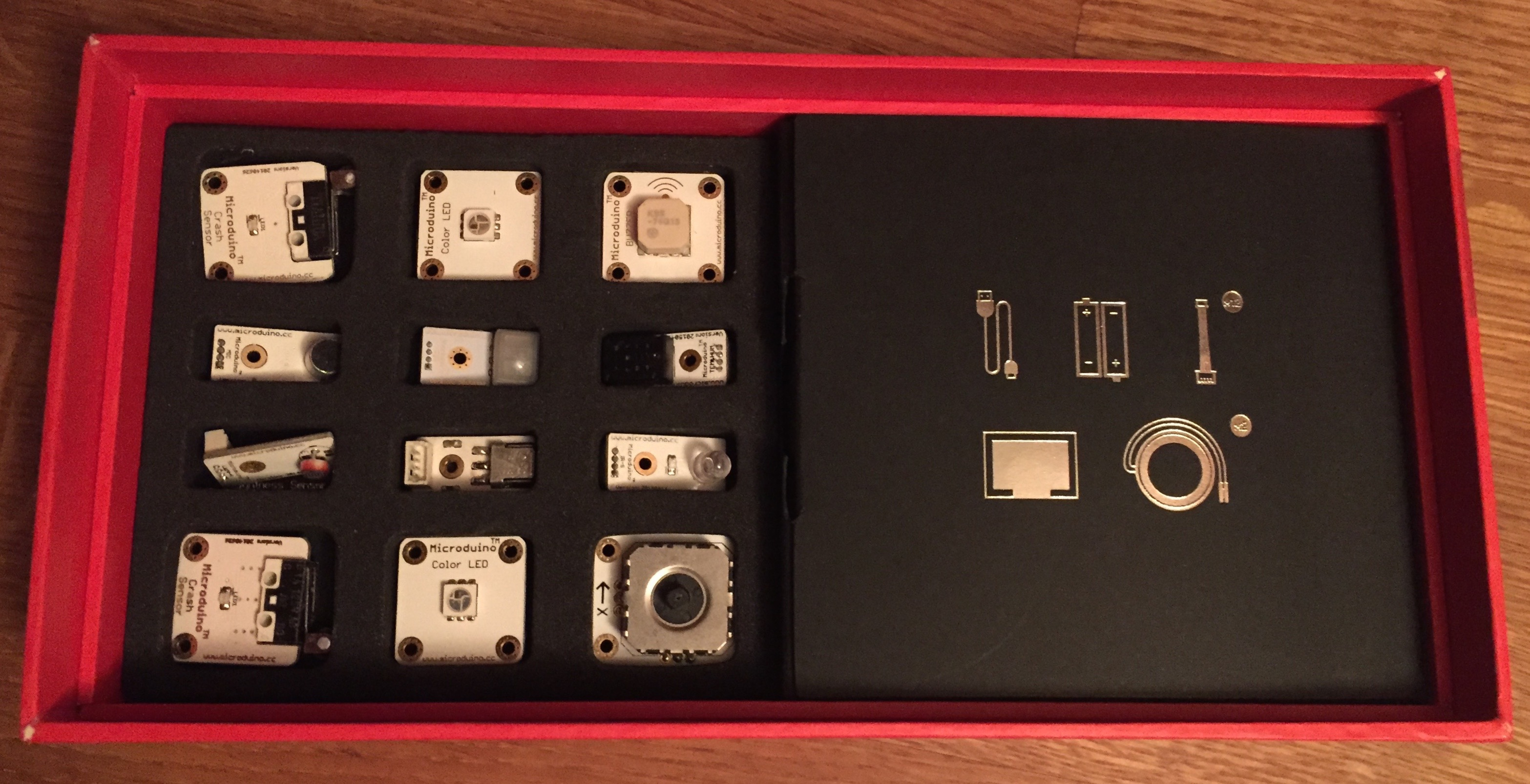 mCookie Microduino sensors