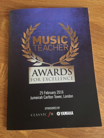 Music Teacher Awards For Excellence 2016 SoundLab