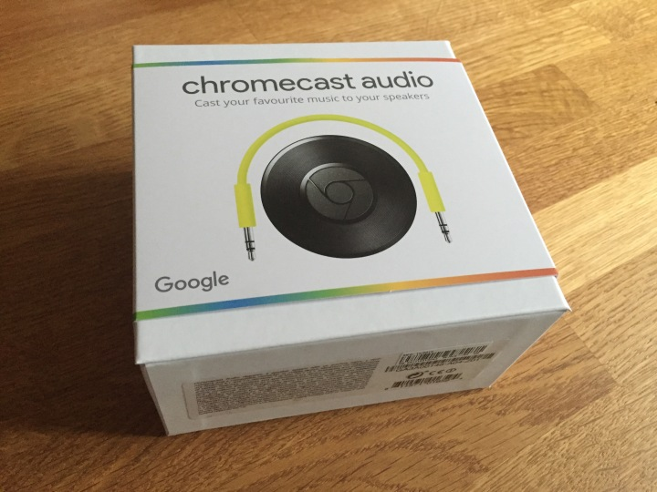 Chromecast Audio box