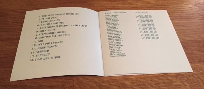 Blancmange - Commuter 23 - Inside booklet