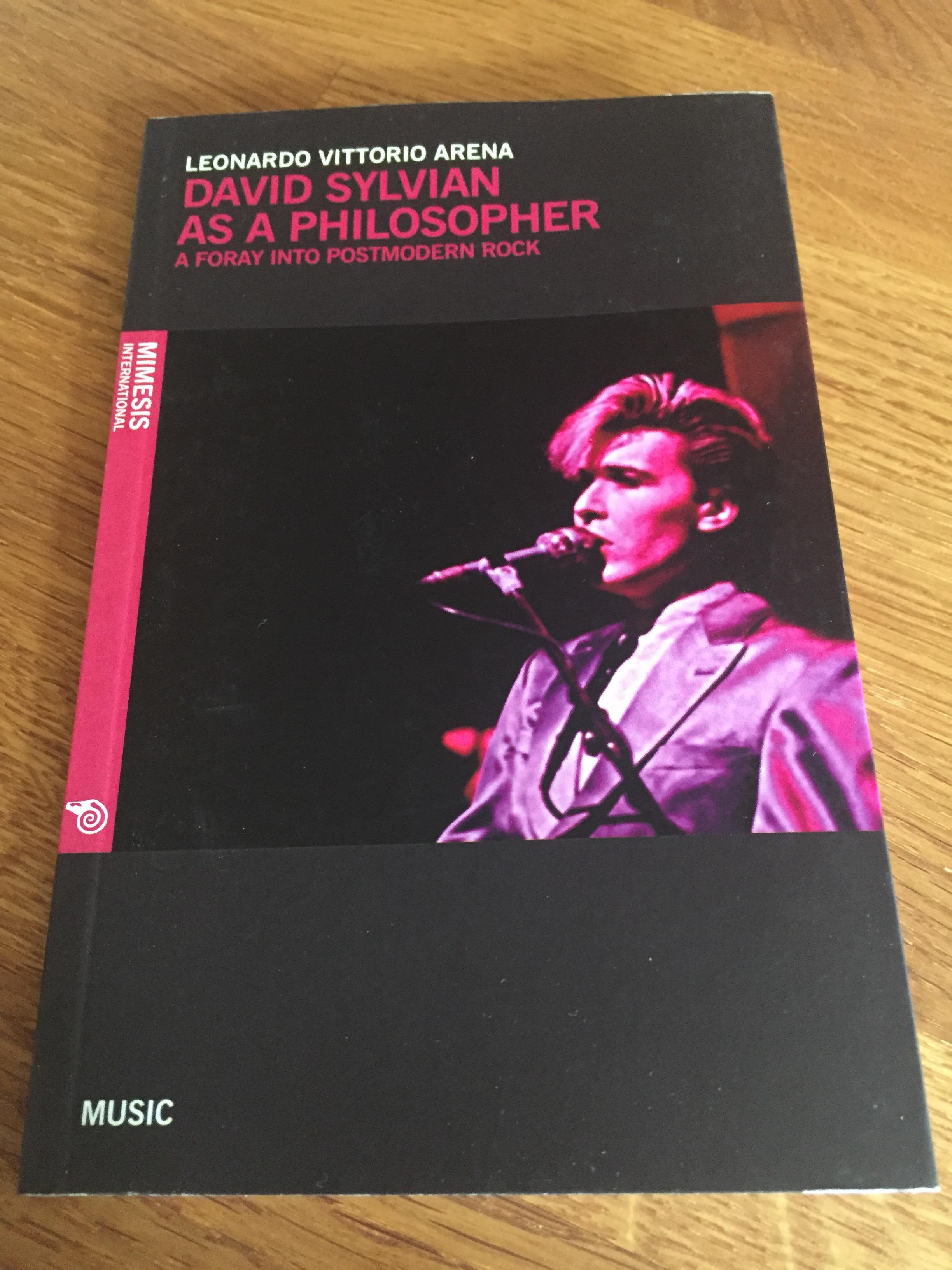 David Sylvian as Philosopher