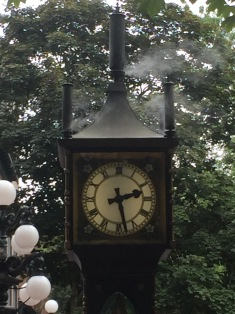 Gas Clock in Gastown vancouver