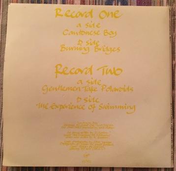 "Japan Cantonese Boy EP Vinyl 7"""