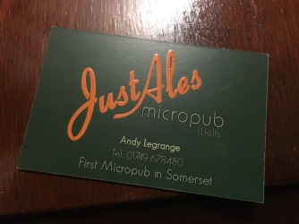 Just ales micropub